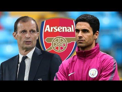 Allegri Arsenal Update Mikel Arteta Gets Arsenal Job Boost