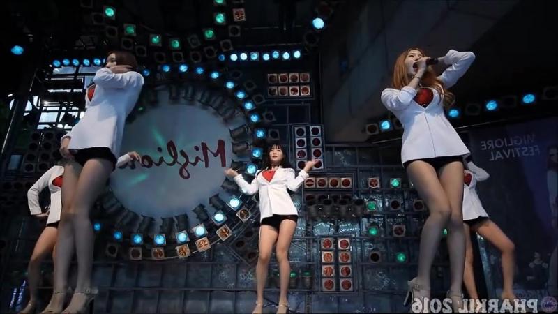 Pocket girls bbang bbang mirror