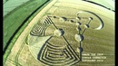 2014 crop circles Banbury Rings near Wimborne Minster Dorset UK 17 June