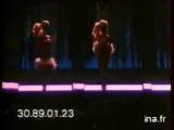 1987 Mattel Barbie Rose du soir Barbie Party pink French commercial