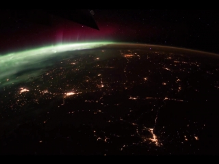 Flying Over the Earth at Night II