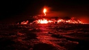 2018 Hawaii Volcano: A Luminous Red Glow Fills The night Sky From Fissure 8