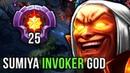 Sumiya LVL 25 Invoker Dotaplus Road to TOP-1 - Epic Gameplay Compilation Dota 2