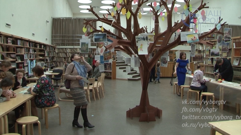Библионочь в библиотеке Алвара Аалто