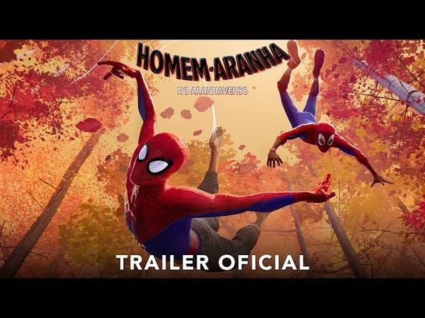 HOMEM ARANHA NO ARANHAVERSO Trailer Oficial dublado Em breve nos cinemas