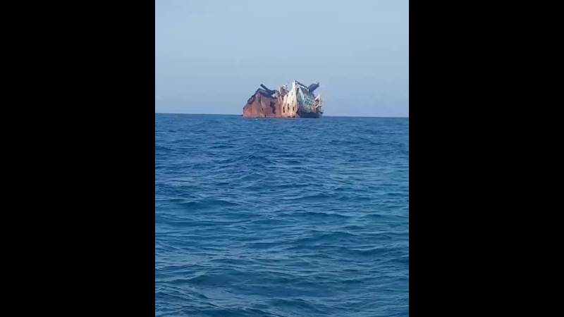 Затонувший корабль в 2010 году Ибрагим-Яким