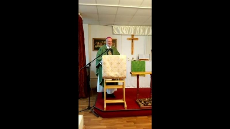 Проповедь в кафедральном соборе лютеран Юга России