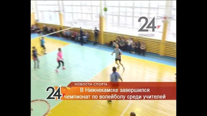 Нижнекамские учителя сразились у волейбольной сетки