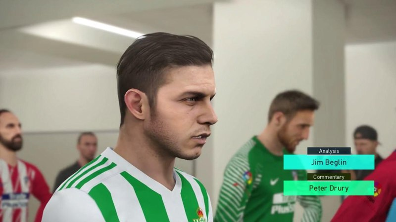 Atletico Madrid vs Real Betis Full Match Goals 2018 PES 2018 Gameplay PC