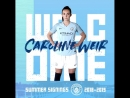 Two new signings in two days Welcome to mancity @carolineweir95 🙌 welcomecaroline