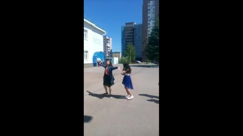 Выпускной 23.05.2018. Танец Адели и Регины
