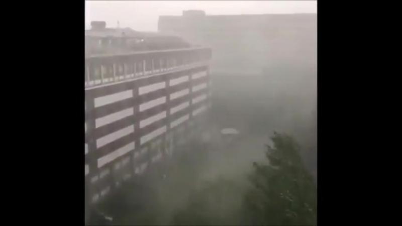 Heftiges Gewitter mit Hagel In Baden-Württemberg, NRW und Bayern - Unglaubliche Szenen