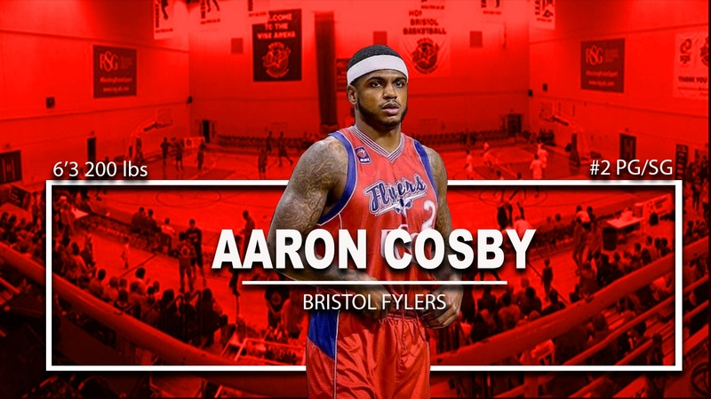 Players To Watch Aaron Cosby Bristol Flyers Highlights Seton Hall, Illinois and WKU