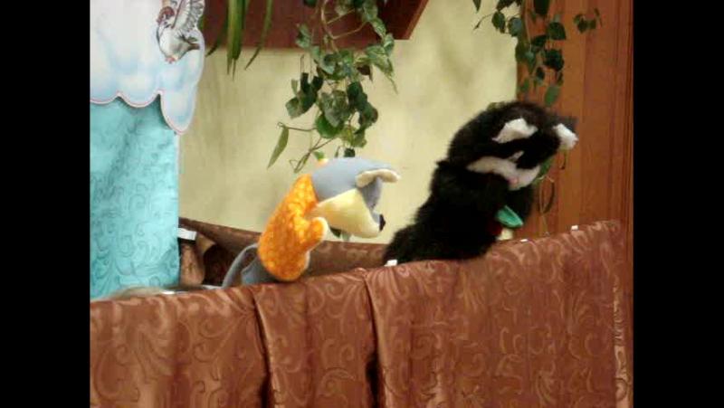 Фрагмент кукольного спектакля Сказка о маленьком мышонке по мотивам сказок С Маршака