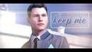 Connor x Hank Detroit Become Human GMV Stay a Little Longer