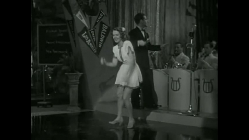Ruby Keeler Tap Dances To A Boogie Beat