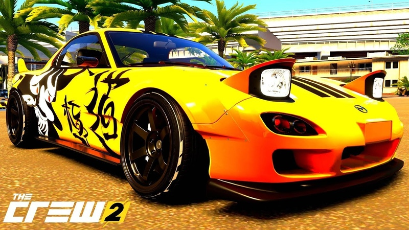 THE CREW 2 GOLD EDiTiON FUN-RACE (LiVE REPLAY) DRiFT MAZDA RX-7 PART 252 ...