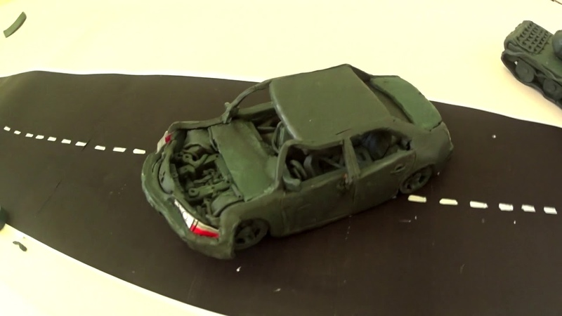 Краш тест Mitsubishi Lancer evolution Taxi 2 BeamNg Drive Crash test plasticine