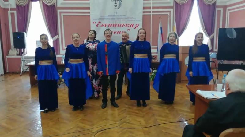 Анс. УСЛАДА - «Вишня белоснежная»