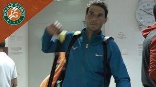 Rafael Nadal inside the locker room - Inside RG I Roland-Garros 2018