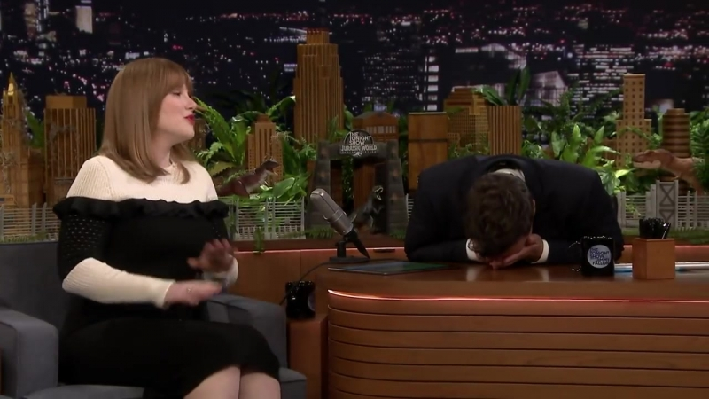 Jurassic Worlds Bryce Dallas Howard Makes Animal Noises to Create Dinosaur Roars