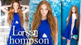 Model Larsen Thompson Modiste Young Contemporary