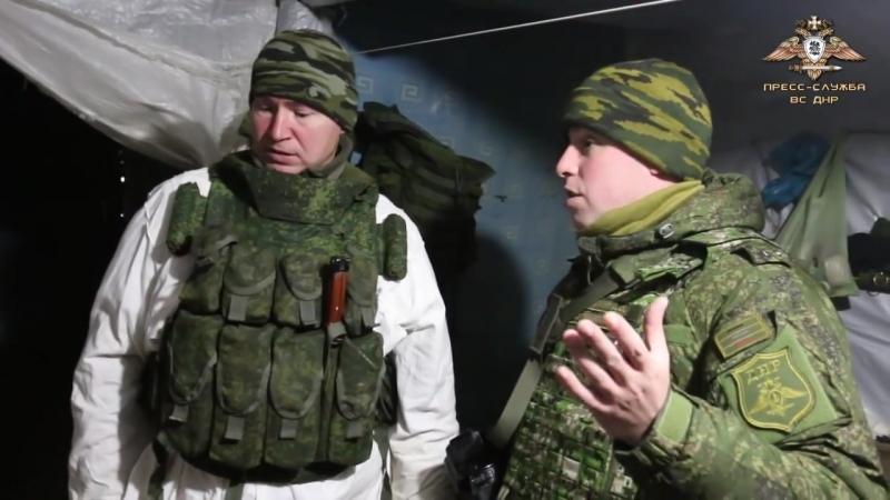 Образцовые позиции защитников Горловки.