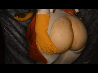 SweetBettyParlour - Testing Rubber Gloves In APOCALYPTIC room