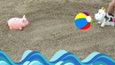 Мультики с игрушками для малышей про Свинку и Корову все новые серии подряд на русском