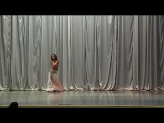 София Зеленовская. Любимый танец. Постановщик Ваагн Тадевосян.