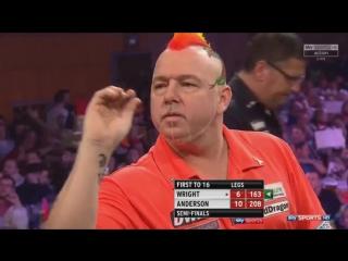 Peter Wright vs Gary Anderson (Grand Slam of Darts 2017 / Semi Final)