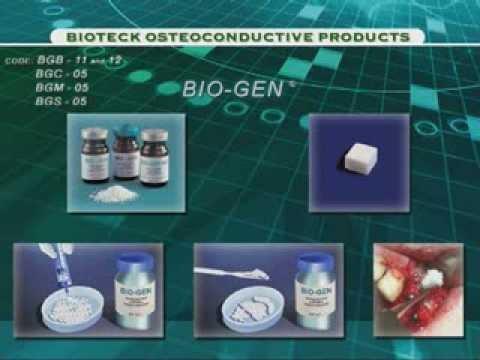 Обзор остеокондуктивных материалов Bioteck