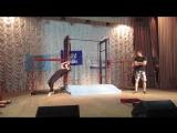 Мое первое выступление с балансом, Street Workout Полтава!