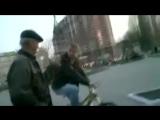 ' Чуть не дошло до драки с велосипедистом ' Дед БОМ БОМ(Осторожно маты +18)