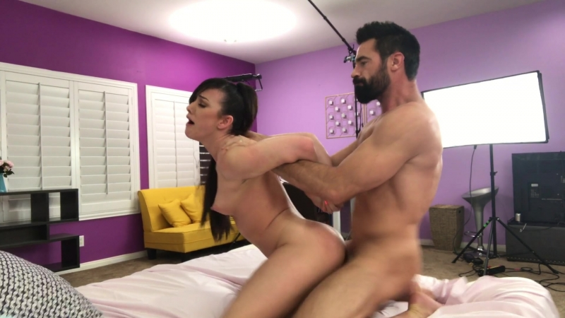 Lily saint interracial anal