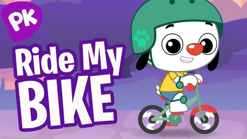 Ride My Bike! I Love to Learn from PlayKids: Music for Kids, Preschool Songs, Kids Songs