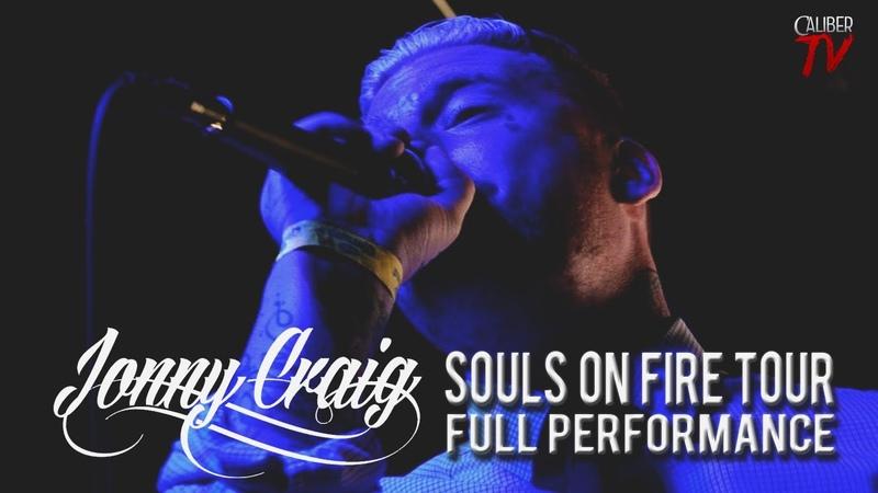 Jonny Craig - FULL SET! LIVE! Souls On Fire Tour (Ace Of Spades: Sacramento, CA)