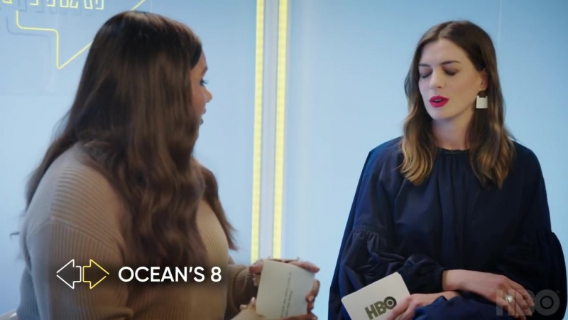 Anne Hathaway Mindy Kaling- This Or That - Ocean's 8 (2018) - HBO
