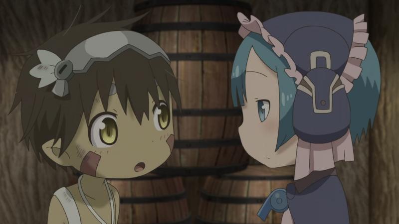Созданный в Бездне 8 серия Itadakimasu