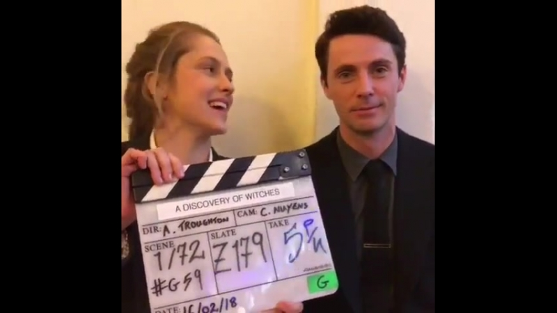 """ADiscoveryOfWitchesTV on Instagram: """"That's a wrap!! Keep following us for flashbacks, throwbacks and even the odd witchwednesda"""