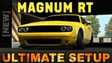 Magnum RT Ultimate Setup + Test Drive! (Dodge Challenger)  CarX Drift Racing