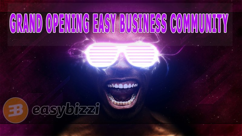 Grand Opening Easy Business Community 24.03.2018 Cyprus