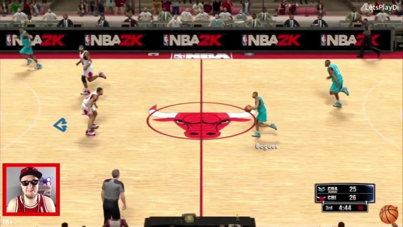 LetsPlayDi: Chicago Bulls VS Charlotte Hornets NBA2K14 on PS3