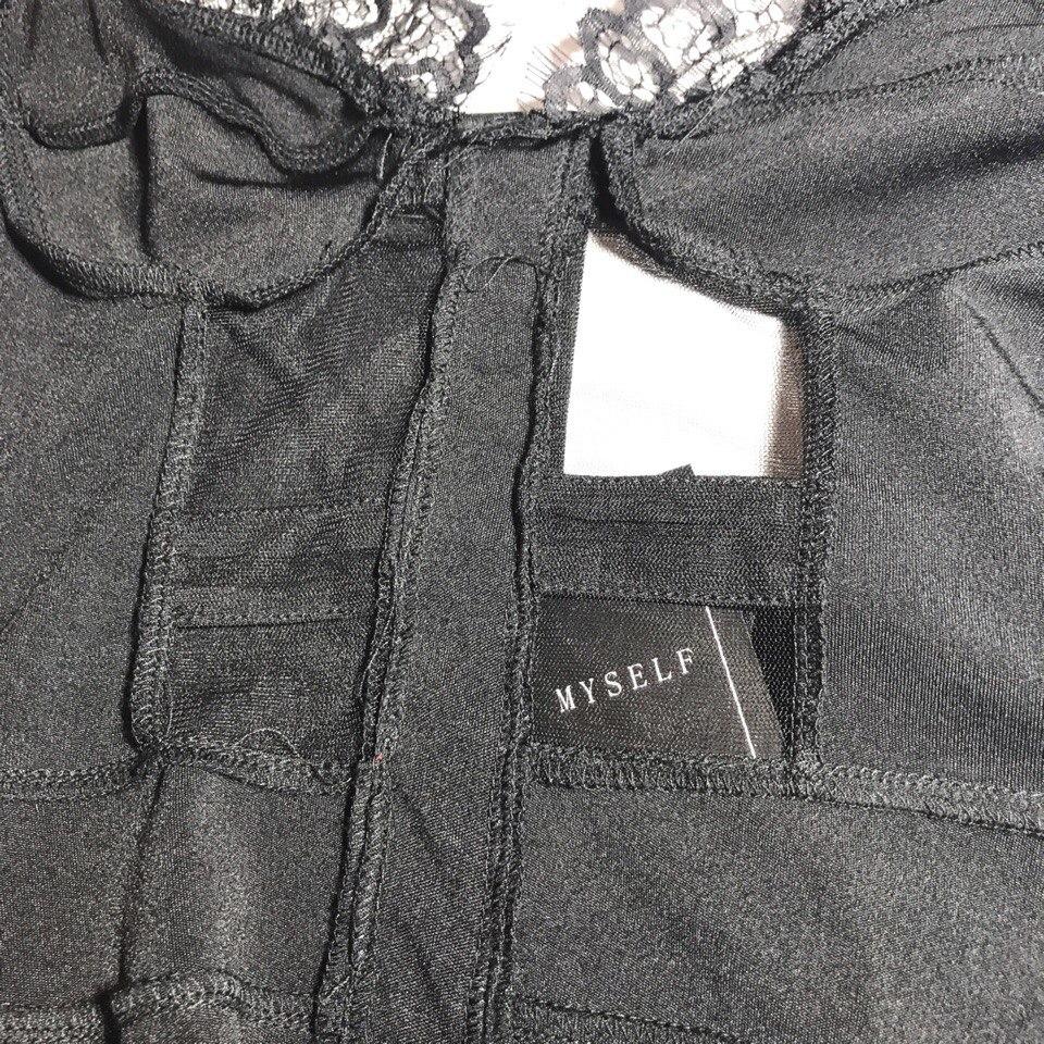 Сексуальное чрное платье от Sishot