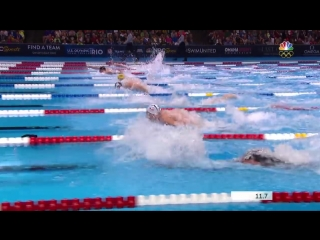Olympic Swimming Trials _ Michael Phelps Wins 100m Butterfly Final
