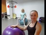 Комплекс упражнений для мышц спины на фитболе