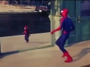 Spider Man vs Mini Spider Man