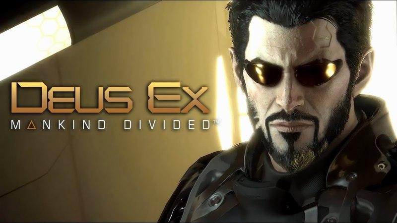 Deus Ex: Cyberpunk Stealth Gameplay