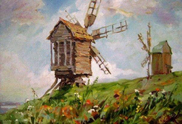 Оксана Шестопал (Oksana Shestopal) - украинский художник. Родилась 1981 году, в селе Ивановка, Ставищенского р-на, Киевской обл. Рисовать начала с того времени, как себя помнит. Естественно, что выбор профессии был определен - с первого класса она знала,