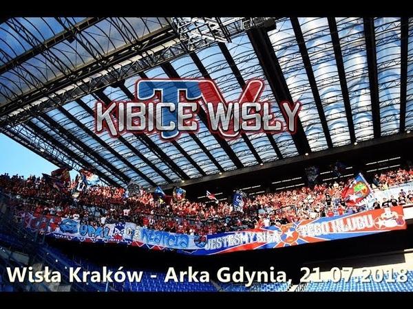 Wisła Kraków 0 0 Arka Gdynia 21 07 2018 Doping Wisły